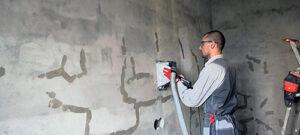 Штробление стен